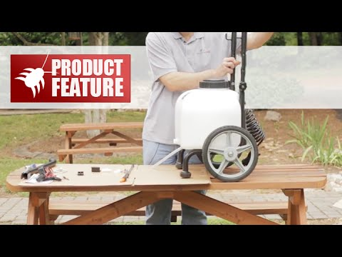 ATV / Tow or Pull Behind Battery Powered Trailer Sprayer Assembly  Instructions