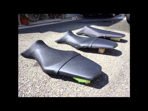 MT-09(FZ-09) Seat StreetRally,Comfort,Normal シートの比較