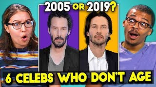 Download 6 Celebrities Who Don't Age (React) Mp3 and Videos