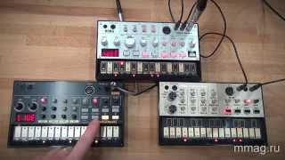 Baixar mmag.ru: Синтезаторы Korg Volca Bass, Beats и Keys - видео обзор и демо