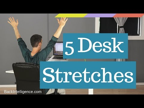 Stretches to complete at the office