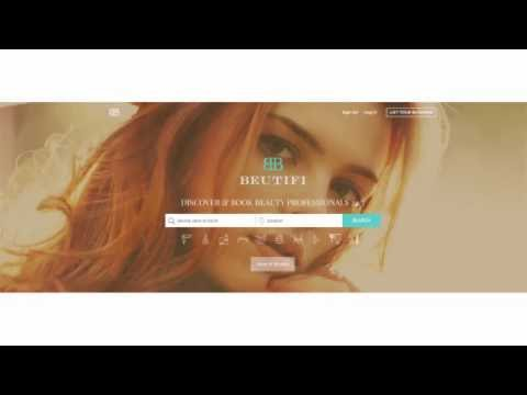 BEUTIFI Introduction Video - Discover & Book salons online