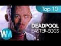Top 10 Deadpool EASTER-EGGS, die du vielleicht VERPASST hast!