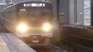 京王線ラッシュ 都営新宿線10-300形10-620編成急行 上北沢駅通過