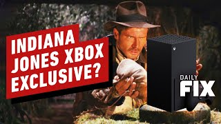Will Bethesda's Indiana Jones Game Be Xbox-Exclusive? - IGN Daily Fix