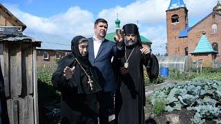 Встреча главы администрации ГО Кумертау Беляева Б.В. и епископа Николая