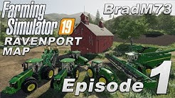 Farming Simulator 19 Let's Play - USA Map - Episode 1 - How to get started!!