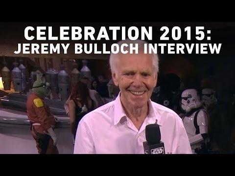 Jeremy Bulloch  with StarWars.com  Star Wars Celebration Anaheim