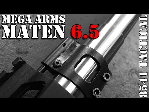 Mega Arms Megalithic MATEN 6.5CM Build Gas System and Brake Install