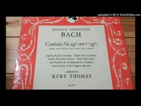 Kurt Thomas conducting J. S. Bach: Cantata #147