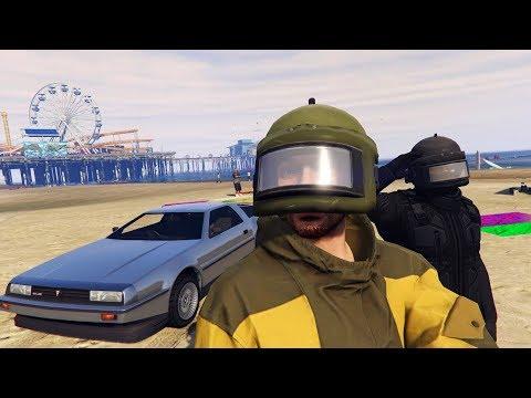 GTA 5 - КРУТОЕ ОБНОВЛЕНИЕ! Судный день! новые машины и jetpack! ОГРАБЛЕНИЯ В ГТА 5 ОНЛАЙН