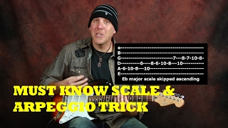 Must know Scale and Arpeggio Tricks