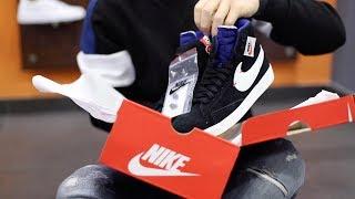 Unboxing Nike Blazer Mid Rebel Nero BQ4022-005