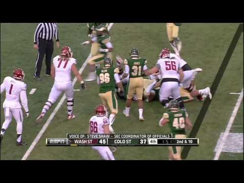 CSU Rams vs  Washington State   2013 New Mexico Bowl