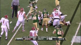 CSU Rams vs  Washington State   2013 New Mexico Bowl