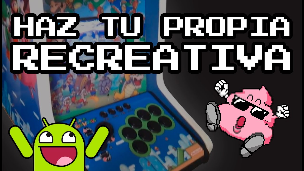 Como hacer una m quina recreativa con tablet android bta for Como hacer una maquina recreativa