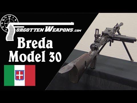 Italy's Worst Machine Gun: The Breda Modello 30