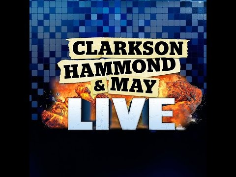 Clarkson Hammond and May Live 2015 Belfast (Tour Launch)