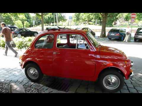 fiat 500 oldtimer youtube. Black Bedroom Furniture Sets. Home Design Ideas