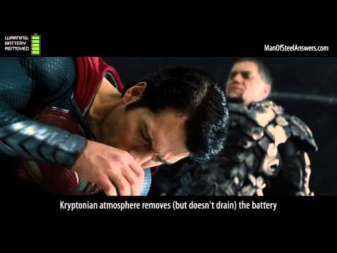 Man of Steel Myths: Kryptonians Aren't Solar Batteries - How The Atmospheric Weakness Works
