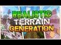 MINECRAFT CON GENERACIÓN DE MUNDO REALISTA *ÉPICO* | Realistic Terrain Generation Mod 1.10.2/1.7.10
