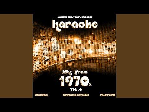 Woodstock (In The Style Of Joni Mitchell) (Karaoke Version)