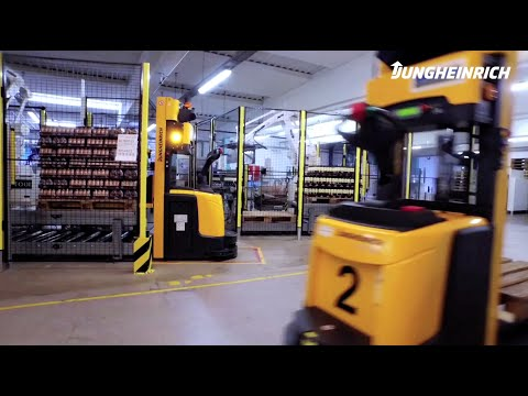 Automated Guided Vehicles – Our Customer Orkla in Denmark