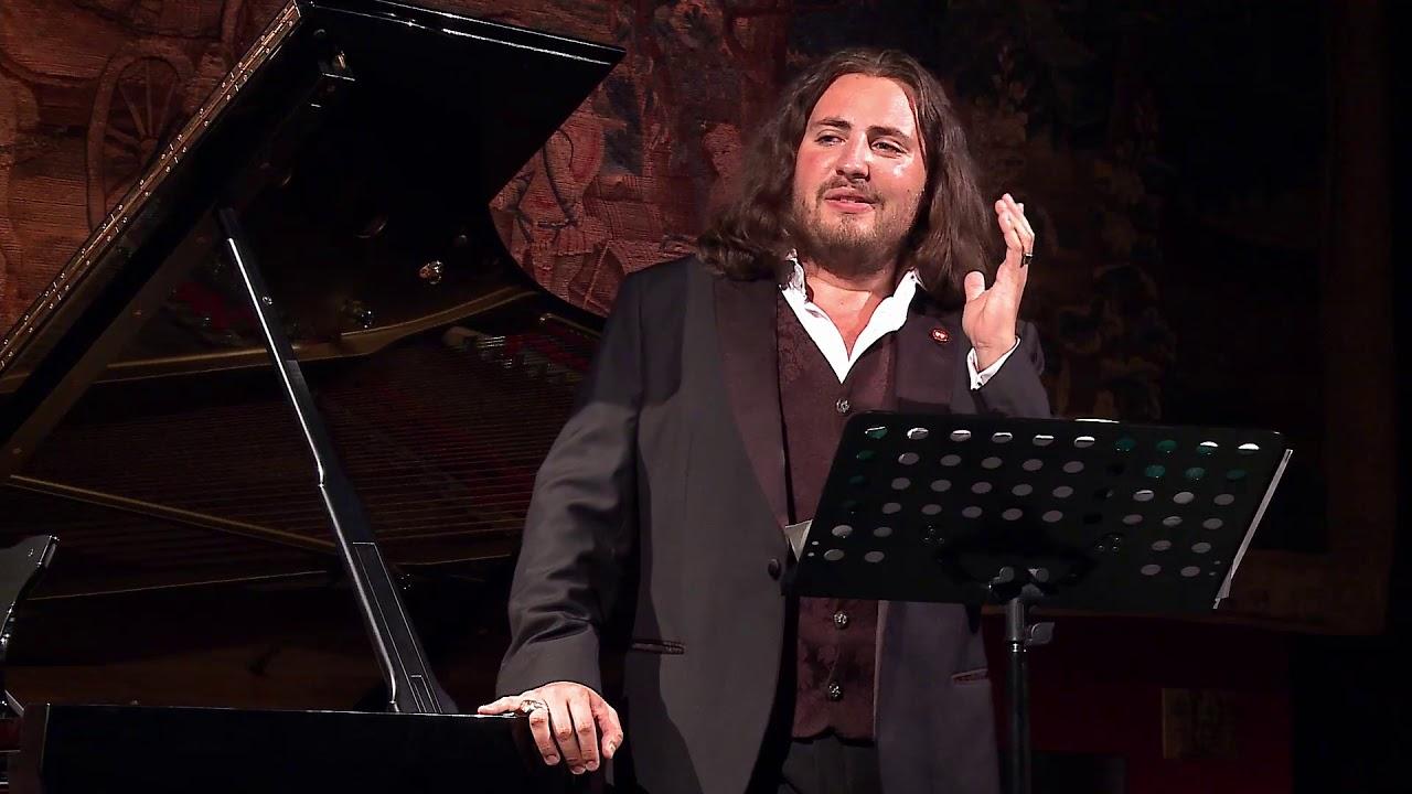 Concert de Florian Sempey et Irène Kudela. Festival Vino Voce. Saint-Emilion 7 septembre 2019