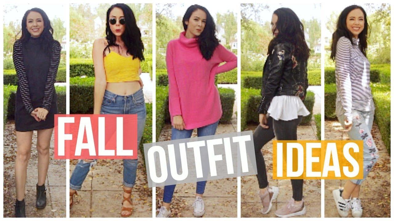 19 cute fall outfit ideas youtube