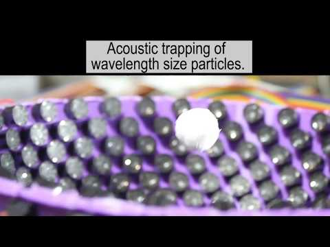 Acoustic Virtual Vortices with Tunable Orbital Angular Momentum for Trapping of Mie Particles