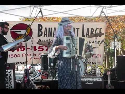 Marin Local Music: Gabby La La - Boogie Woogie Man in a Black Dress