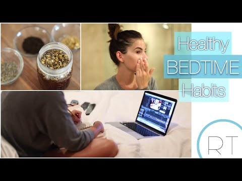 Healthy Bedtime Habits (My Routine + DIY)