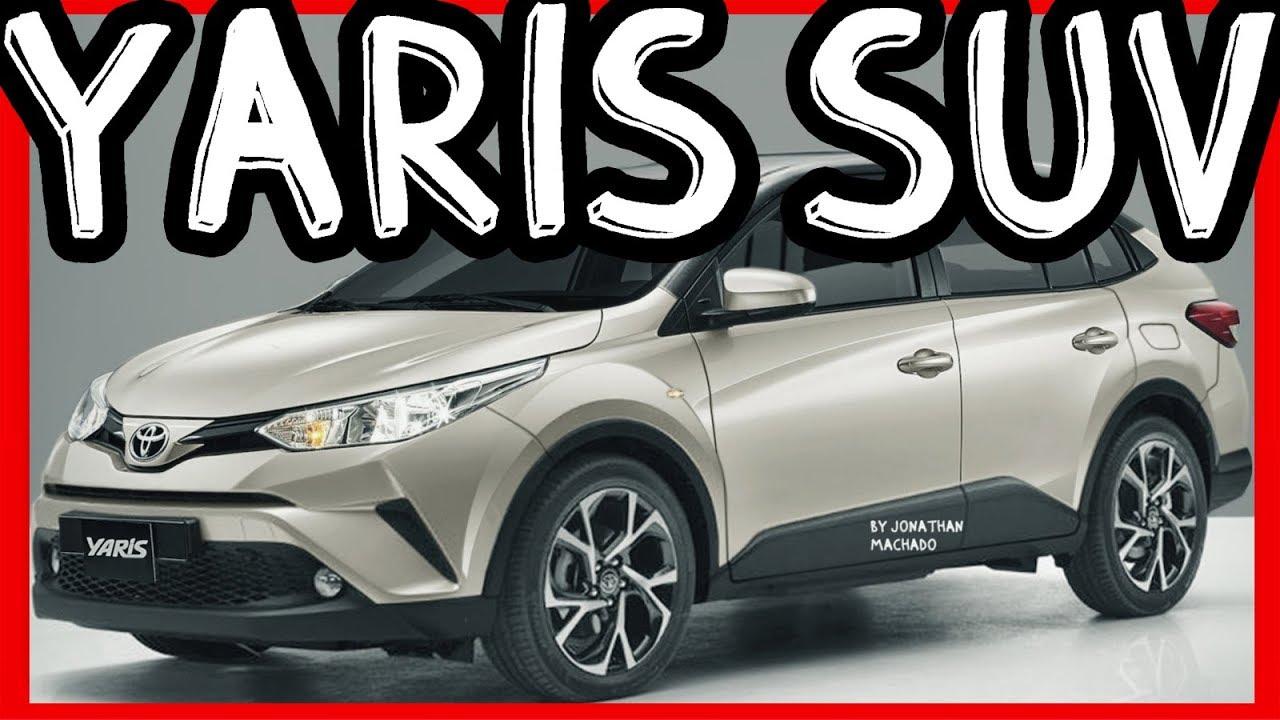 PHOTOSHOP Toyota Yaris SUV @ Projeto 740B - YouTube