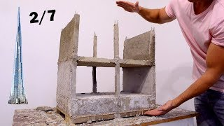 mINI SKYSCRAPER 2st floor - FULL PROCESS --- BRICKLAYING --- FOUNDATIONS