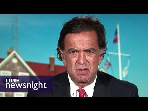 'Worst state of tension in Korean Peninsula since Korean War' - BBC Newsnight