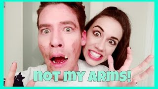 NOT MY ARMS CHALLENGE! W/ Colleen Ballinger