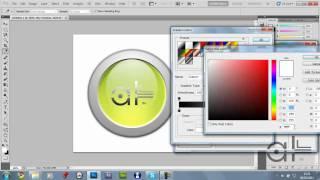 Adobe Photoshop CS5: Ellipse Logo Making / Creating - Tutorial