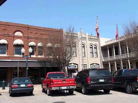 Driving Tour of Main Street in Historic Downtown Franklin TN