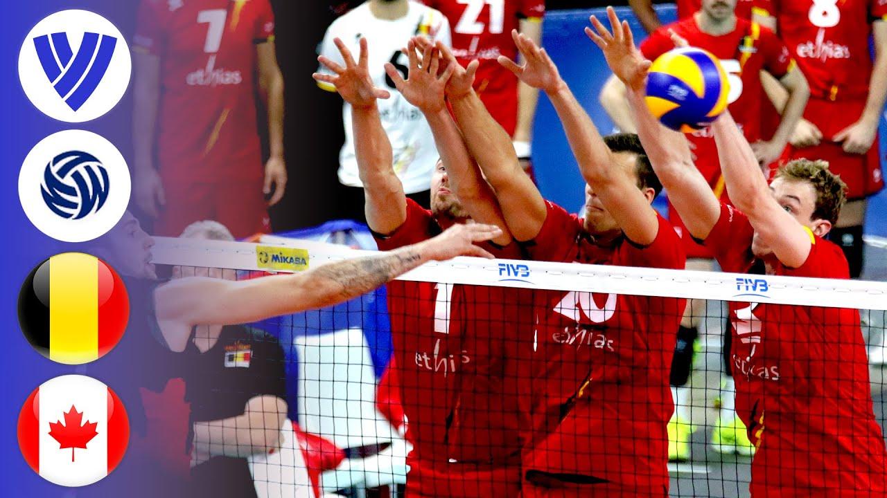 Belgium vs. Canada - Full Match | Men's Volleyball World League 2017