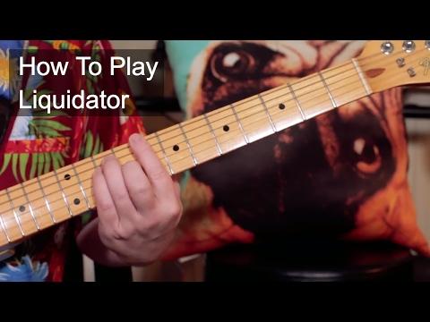 'Liquidator' Harry J All Stars Guitar & Bass Lesson