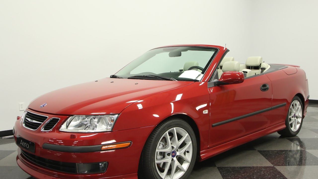 715 tpa 2005 saab 9 3 aero convertible youtube. Black Bedroom Furniture Sets. Home Design Ideas
