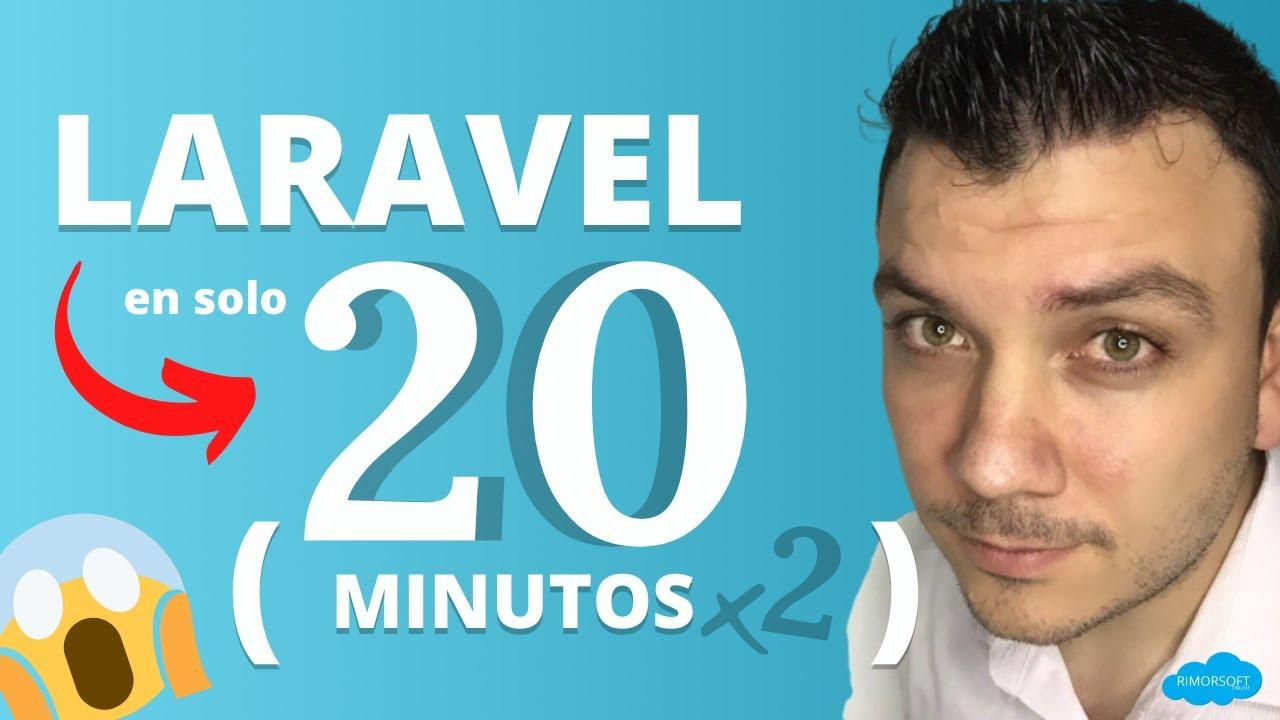 APRENDE LARAVEL en pocos minutos  (clase práctica) | Rimorsoft Online