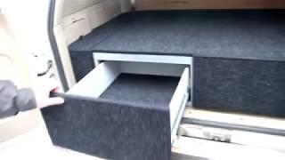 Спальник органайзер в Toyota Land Cruiser 105