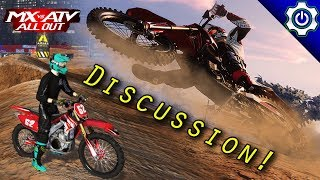 MX vs ATV All Out Discussion - MX vs ATV Supercross Encore Gameplay
