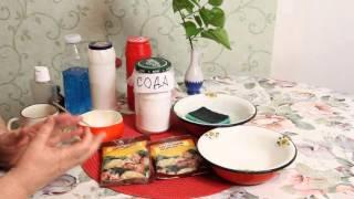 Самое безопасное средство для мытья  посуды БЕЗ ХИМИИ