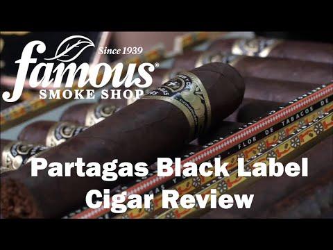 Partagas Black Label Cigars Reviews - Famous Smoke Shop