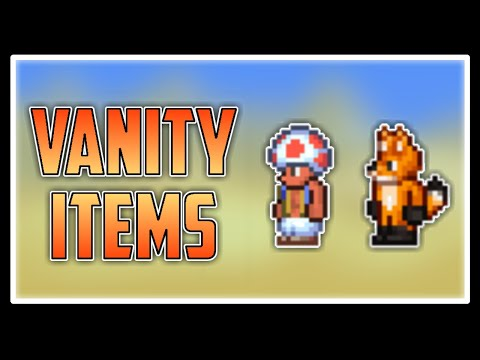 Vanity Items in Terraria Journey's End