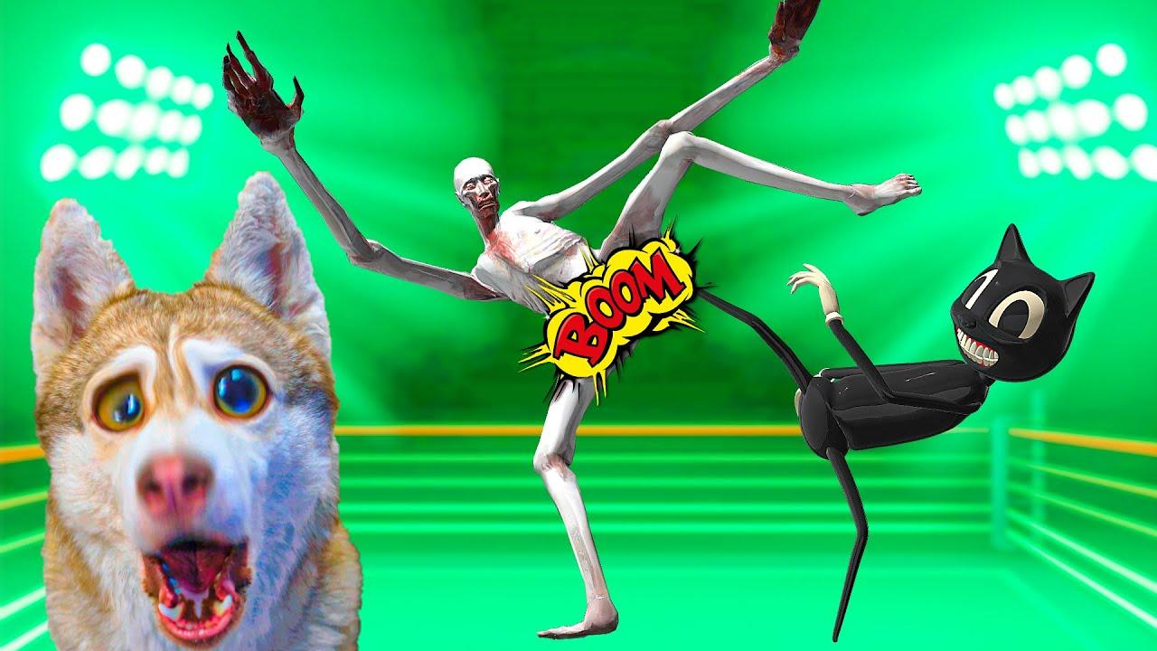 СКРОМНИК SCP ПРОТИВ CARTOON CAT!! НАША КВАРТИРА   АНОМАЛИЯ! (Хаски Бублик) Говорящая собака