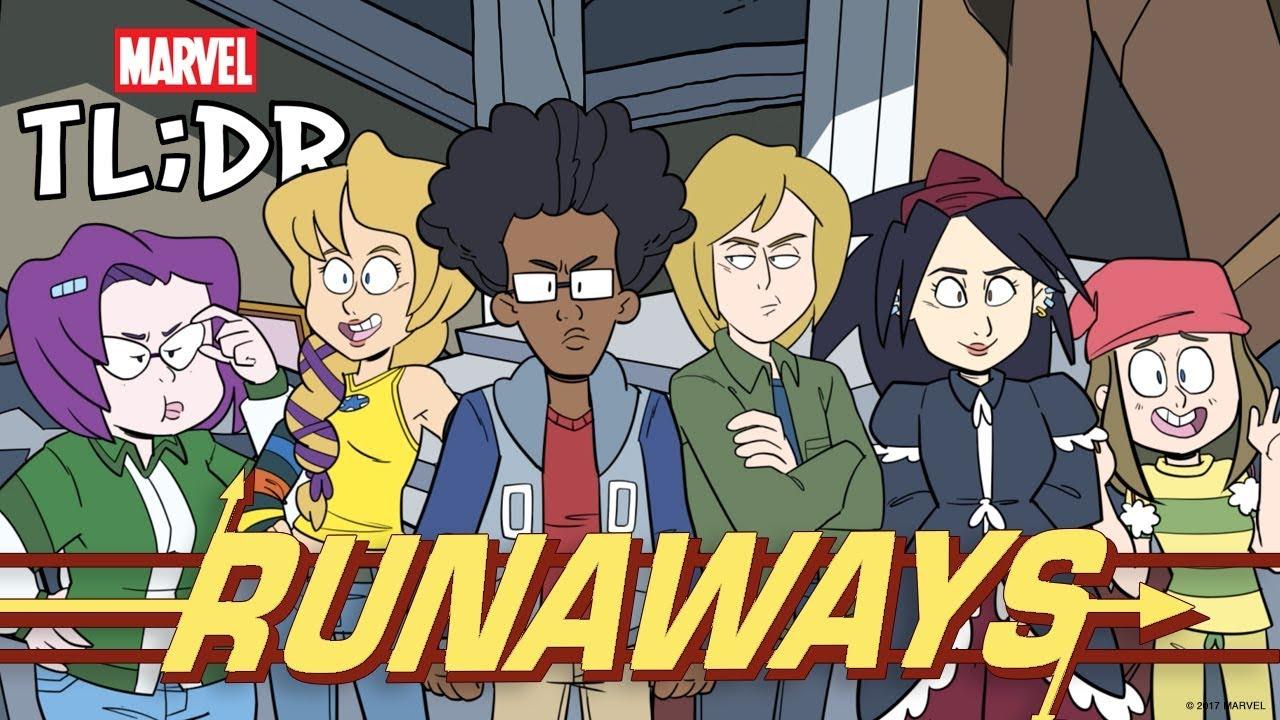 Download Runaways in 2 Minutes - Marvel TL;DR