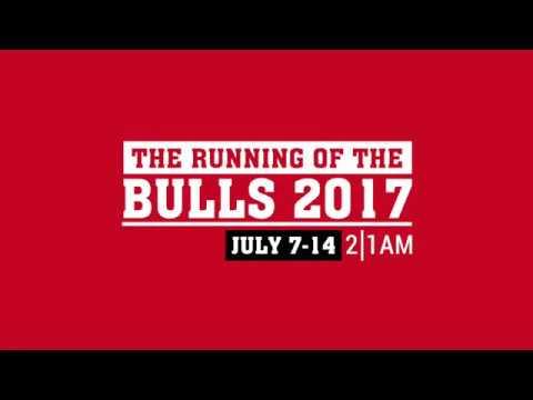 The Running Of The Bulls 2017